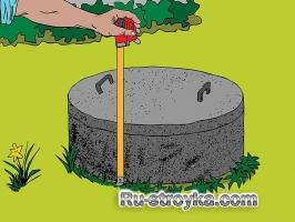 Декор канализационного люка.