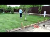 Укладка газона видео
