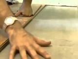 Укладка пробкового пола видео