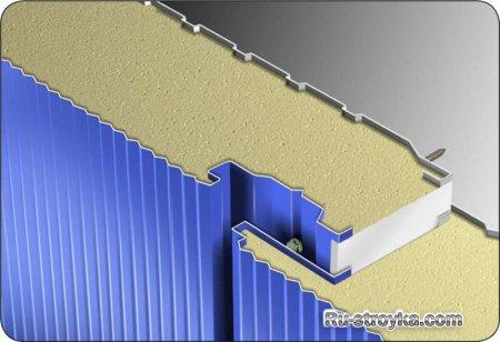 Современные строительные материалы: сэндвич-панели