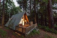 Каркасный дом-шалаш или А-образный дом