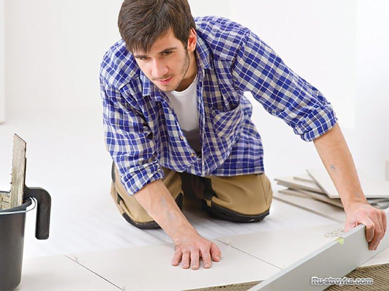 Выбор плинтуса для напольной плитки